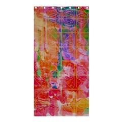 Colorful Watercolors Pattern                       Shower Curtain 36  X 72