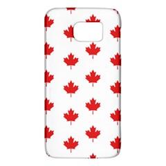 Canadian Maple Leaf Pattern Galaxy S6