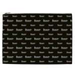 Beauty Moments Phrase Pattern Cosmetic Bag (XXL)  Front