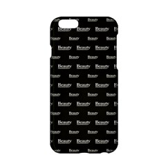 Beauty Moments Phrase Pattern Apple Iphone 6/6s Hardshell Case