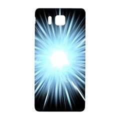 Bright Light On Black Background Samsung Galaxy Alpha Hardshell Back Case