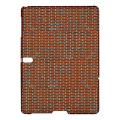 Brick Wall Brown Line Samsung Galaxy Tab S (10 5 ) Hardshell Case