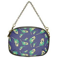 Canaries Budgie Pattern Bird Animals Cute Chain Purses (one Side)