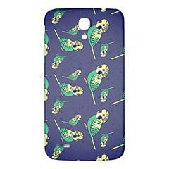 Canaries Budgie Pattern Bird Animals Cute Samsung Galaxy Mega I9200 Hardshell Back Case