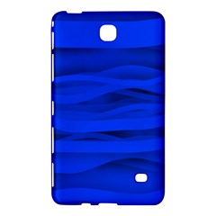 Dark Blue Stripes Seamless Samsung Galaxy Tab 4 (7 ) Hardshell Case