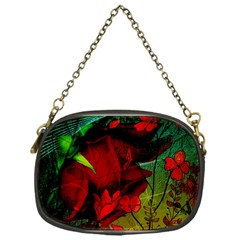Flower Power, Wonderful Flowers, Vintage Design Chain Purses (one Side)
