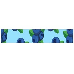 Fruit Nordic Grapes Green Blue Flano Scarf (large)