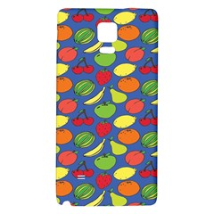 Fruit Melon Cherry Apple Strawberry Banana Apple Galaxy Note 4 Back Case