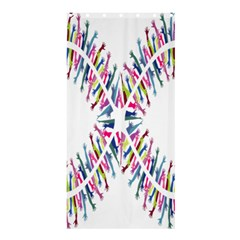 Free Symbol Hands Shower Curtain 36  X 72  (stall)
