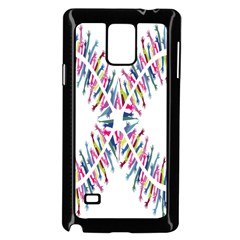 Free Symbol Hands Samsung Galaxy Note 4 Case (black)
