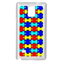 Game Puzzle Samsung Galaxy Note 4 Case (white)