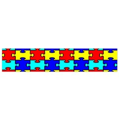 Game Puzzle Flano Scarf (small)