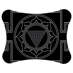 Kali Yantra Inverted Jigsaw Puzzle Photo Stand (bow)