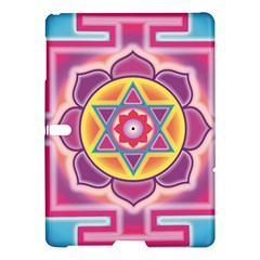 Kali Yantra Inverted Rainbow Samsung Galaxy Tab S (10 5 ) Hardshell Case