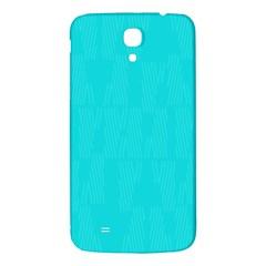 Line Blue Samsung Galaxy Mega I9200 Hardshell Back Case