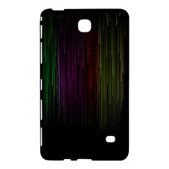 Line Rain Rainbow Light Stripes Lines Flow Samsung Galaxy Tab 4 (7 ) Hardshell Case