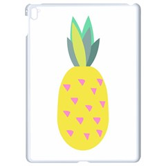 Pineapple Fruite Yellow Triangle Pink Apple Ipad Pro 9 7   White Seamless Case