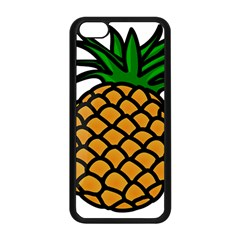 Pineapple Fruite Yellow Green Orange Apple Iphone 5c Seamless Case (black)