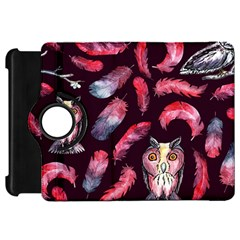 Boho Owl And Feather Pattern Kindle Fire Hd 7