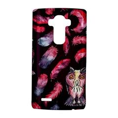 Boho Owl And Feather Pattern Lg G4 Hardshell Case