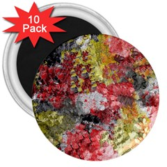 Garden Abstract 3  Magnets (10 Pack)