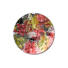 Garden Abstract Magnet 3  (round)