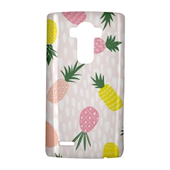 Pineapple Rainbow Fruite Pink Yellow Green Polka Dots Lg G4 Hardshell Case