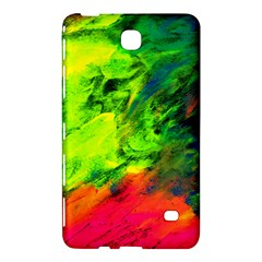 Neon Rainbow Green Pink Blue Red Painting Samsung Galaxy Tab 4 (8 ) Hardshell Case