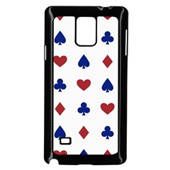 Playing Cards Hearts Diamonds Samsung Galaxy Note 4 Case (black)