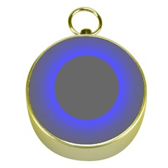 Pure Energy Black Blue Hole Space Galaxy Gold Compasses