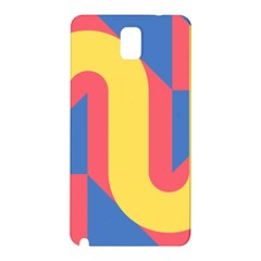 Rainbow Sign Yellow Red Blue Retro Samsung Galaxy Note 3 N9005 Hardshell Back Case