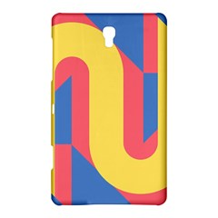 Rainbow Sign Yellow Red Blue Retro Samsung Galaxy Tab S (8 4 ) Hardshell Case