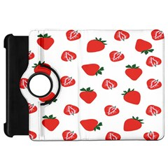 Red Fruit Strawberry Pattern Kindle Fire Hd 7