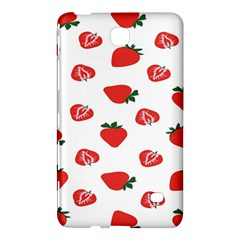 Red Fruit Strawberry Pattern Samsung Galaxy Tab 4 (7 ) Hardshell Case
