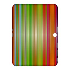 Rainbow Stripes Vertical Colorful Bright Samsung Galaxy Tab 4 (10 1 ) Hardshell Case