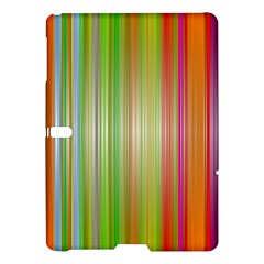 Rainbow Stripes Vertical Colorful Bright Samsung Galaxy Tab S (10 5 ) Hardshell Case