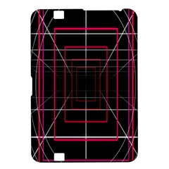 Retro Neon Grid Squares And Circle Pop Loop Motion Background Plaid Kindle Fire Hd 8 9