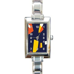 Slider Explore Further Rectangle Italian Charm Watch