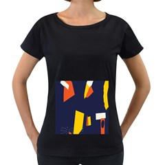Slider Explore Further Women s Loose Fit T Shirt (black)