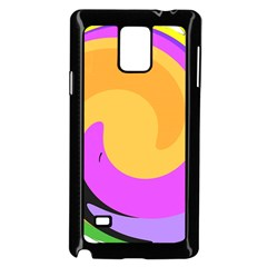 Spiral Digital Pop Rainbow Samsung Galaxy Note 4 Case (black)