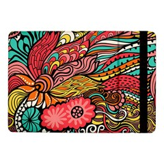 Seamless Texture Abstract Flowers Endless Background Ethnic Sea Art Samsung Galaxy Tab Pro 10 1  Flip Case