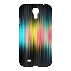 Sound Colors Rainbow Line Vertical Space Samsung Galaxy S4 I9500/i9505 Hardshell Case
