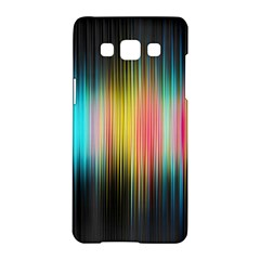 Sound Colors Rainbow Line Vertical Space Samsung Galaxy A5 Hardshell Case