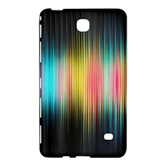 Sound Colors Rainbow Line Vertical Space Samsung Galaxy Tab 4 (7 ) Hardshell Case