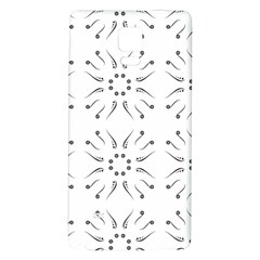 Squid Flower Floral Polka Dots Sunflower Galaxy Note 4 Back Case
