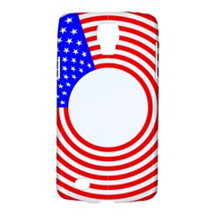 Stars Stripes Circle Red Blue Galaxy S4 Active