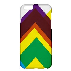 Triangle Chevron Rainbow Web Geeks Apple Iphone 6 Plus/6s Plus Hardshell Case