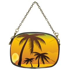 Sunset Summer Chain Purses (one Side)