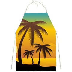 Sunset Summer Full Print Aprons