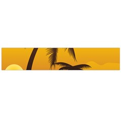Sunset Summer Flano Scarf (large)